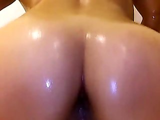 my wife dancing in the shower