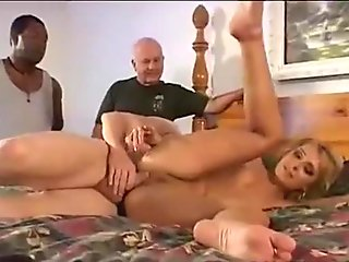 Blonde housewife gets load in her ass hole