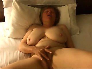 Insane Orgasm - Busty Mature