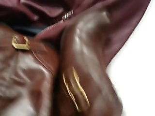 wifes MS boot and HM skirt both fuck cummed