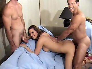 Horny Milf Cynthia Pendragen eats cum after hard fuck
