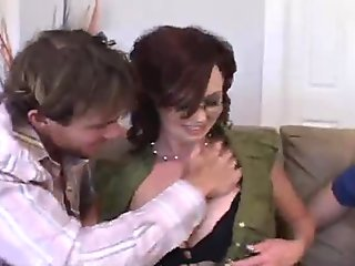 Role Playing Wife Fucks For Hubby