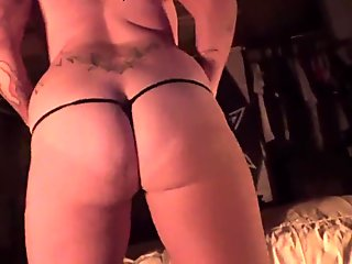 Angie Michelle shaking that big ass before getting fucked doggystyle