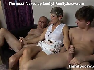 lean cockslut plowing the family