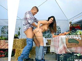 Farmers Market Wife Fuck
