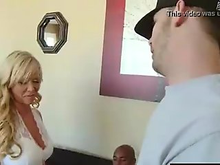 Sexy Milf (austin taylor) Love To Ride Huge Black Mamba Cock movie-11