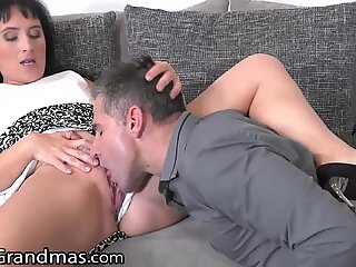 LustyGrandmas that GILF only wants the Big Dick from a Young Man