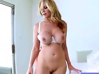 Lovely Wife (julia ann) With Big Round Tits Perform On Cam clip-15