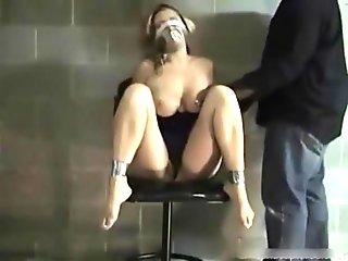 An ebony man drills hard my wet bun