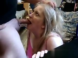 gobbles up the cock like a god damn turkey