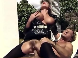 Sarah junior in black pantyhose  fucked