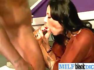 Interracial Sex With Wild Milf On Huge Black Dick clip-30