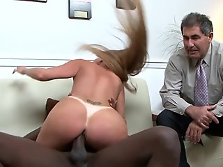 Cuckolding wife humiliates her husband