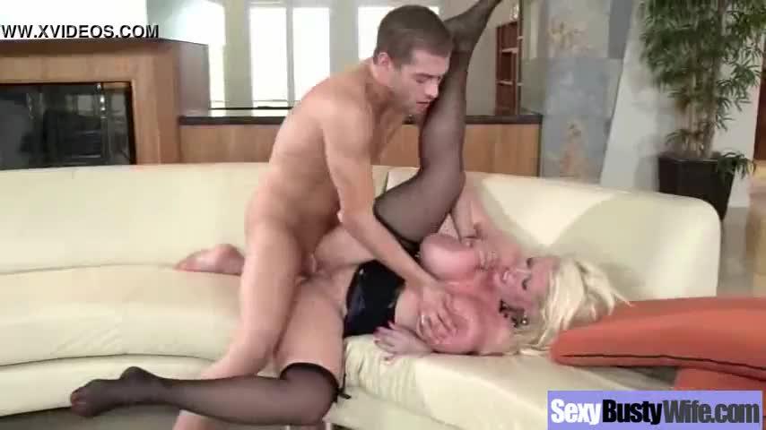 Busty Milf (alura jenson) Get Hardcore Sex On Camera vid-03