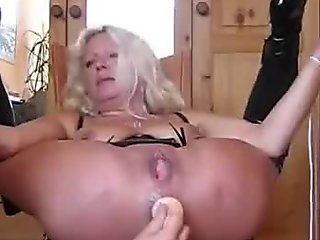Ex gets ass fisted and squirts