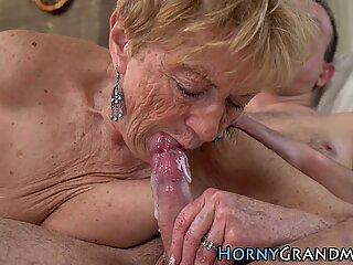 Spunky mouthed granny