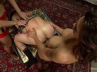 Wife Swapping, Husband Swapping, Creampie Christmas Threesome