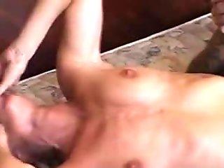 Horny Wife Threesome Knobbing