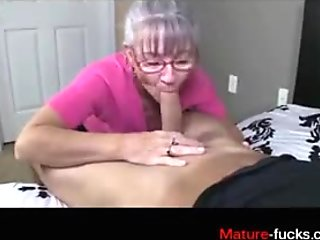 sucking on the dick so the dude thanks her later on