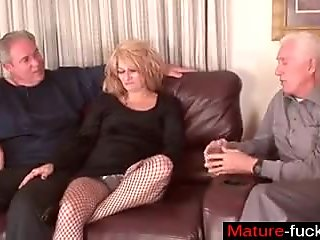 milf has a nice time as she gets pounded
