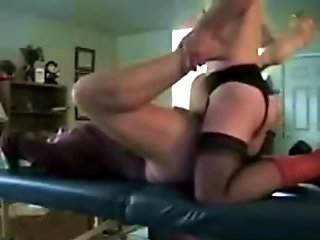 Fucked with a Strap On by Wife