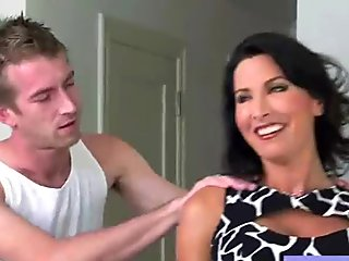 Mature Wife With Round Big Tits Love Sex On Tape (lezley zen) movie-19