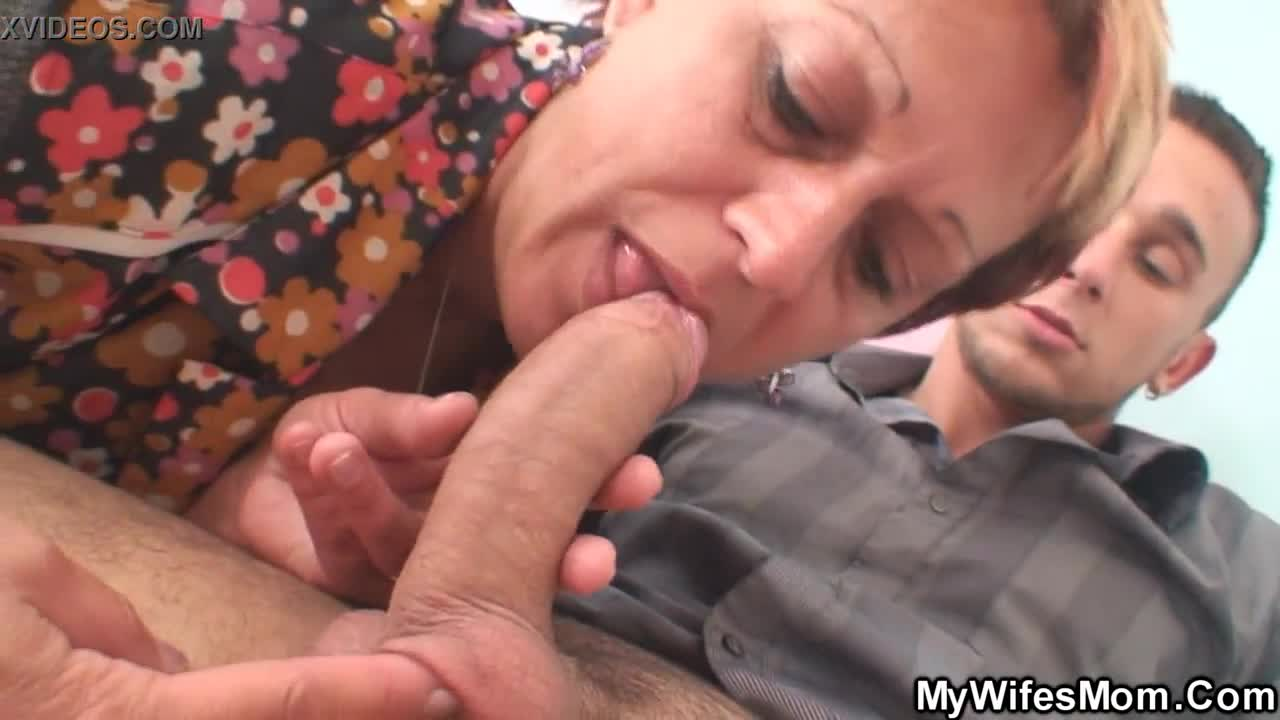 Fucking mother inlaw from behind