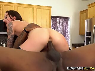 BBC Slut Kendra Cole Takes Care Of Her Cuckold Husband's Coworkers