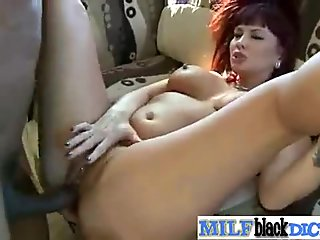 Lovely Mature Lady (carrie ann) On Cam Ride Monster Black Dick movie-26