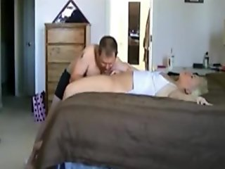 Screwing my wife properly on the bed